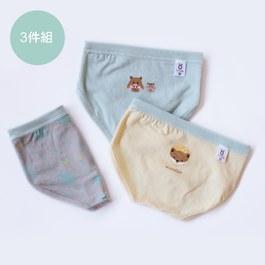 穗花杉和調皮動物-男童三角褲組