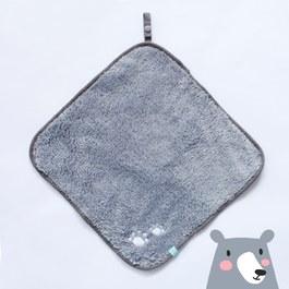 隨手掛擦手巾(30x30cm)-深灰黑熊掌
