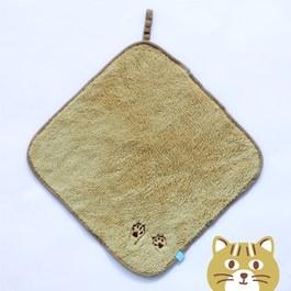 隨手掛擦手巾(30x30cm)-芥黃石虎手手