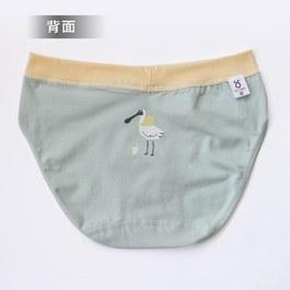 銀離子抗菌三角褲-黑面琵鷺