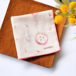 消失中的草鴞-有機棉雙層紗手帕
