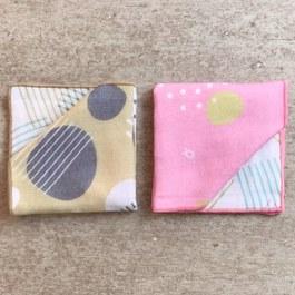 找找miniö小方巾2件組-18cm有機棉四層紗