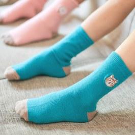 石虎的萊卡精梳棉襪